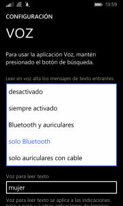 voz windows phone