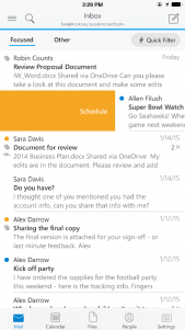 Microsoft renueva Outlook para iOS y las apps para Android dejan de ser Preview
