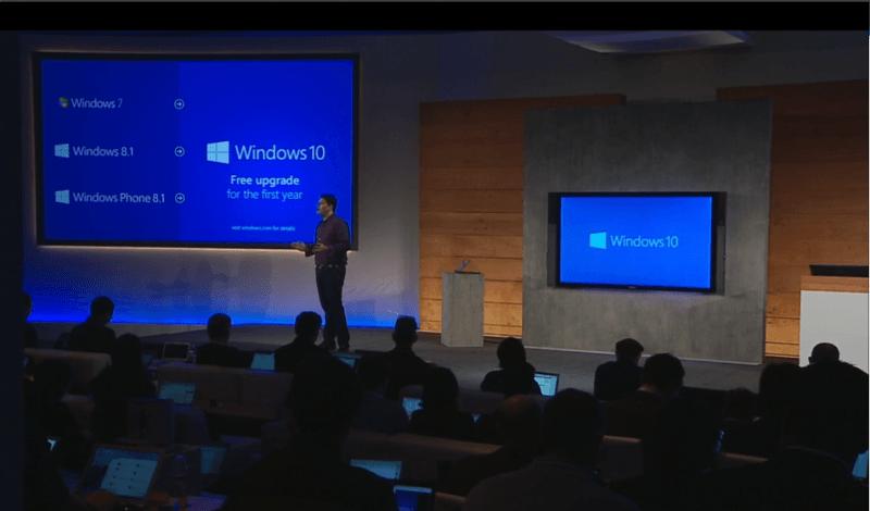 Windows 10 gratis para los usuarios de Windows 7, 8 y 8.1 si actualizas el primer año