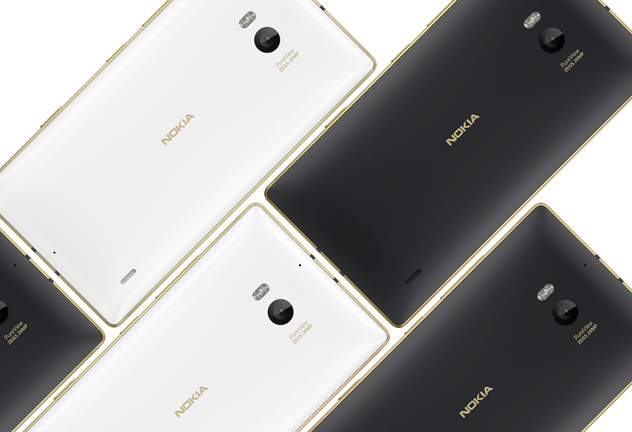 Lumia 830 y 930 edicion especial Gold