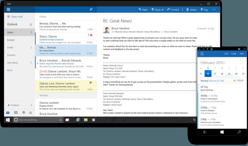 Outlook en Office 2016