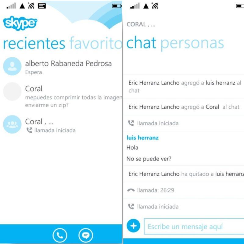 Skype 2.26 para Windows Phone