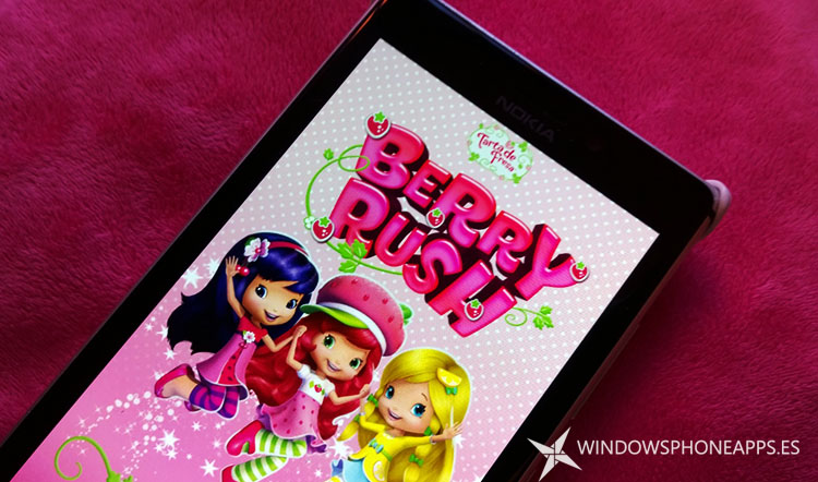 Strawberry Shortcake: Berry Rush Windows Phone
