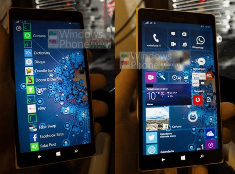 Windows 10 para móviles