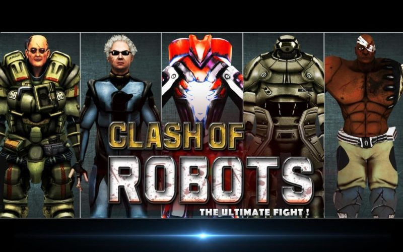Clash of the Robots desarrollado por AppTeeka