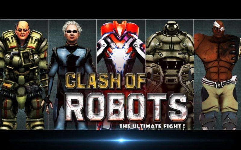 Clash of the Robots desarrollado por AppTeeka