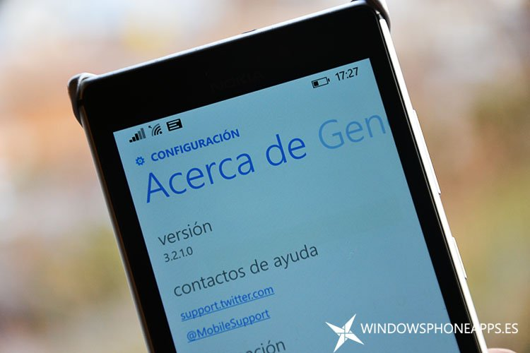 Twitter se actualiza para Windows Phone