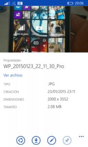 OneDrive se actualiza con apartado de propiedades para nuestras fotos