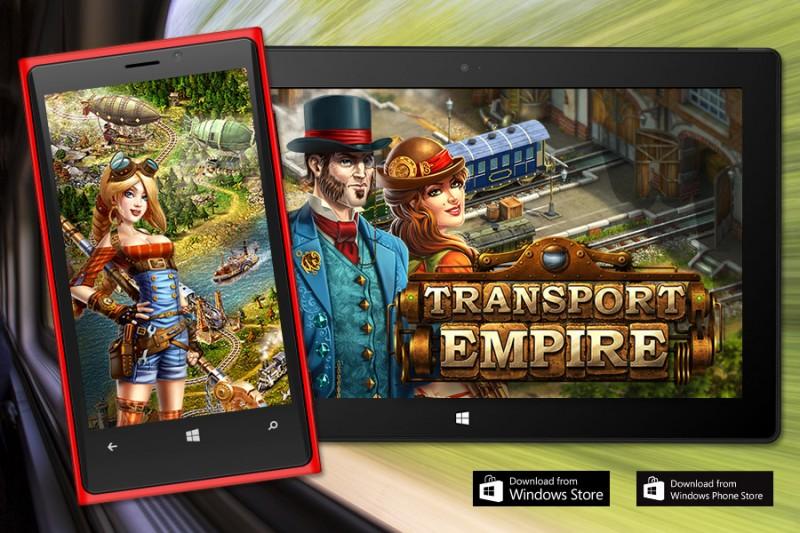 Transport Empire para Windows 8 y Windows Phone