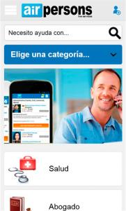 AirPersons lanza la nueva versión de su APP para dispositivos móviles