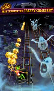 Rail Rush se actualiza y añade cuevas de zombies