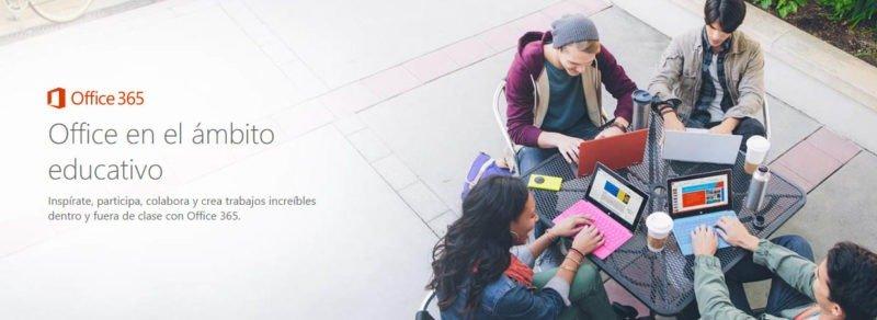 suscripción gratuita a Office 365