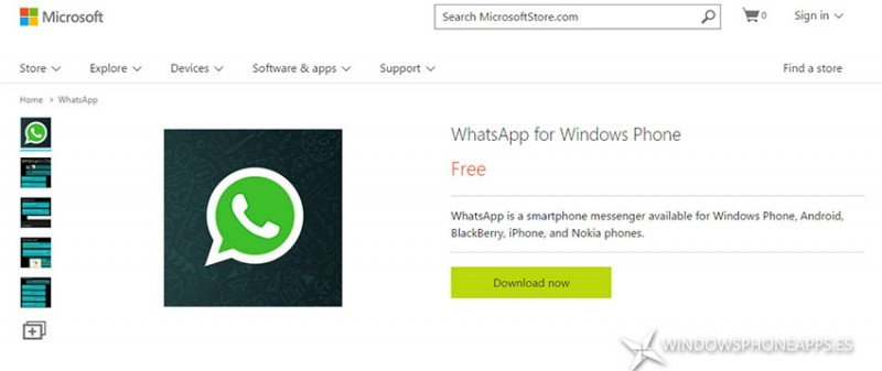 Tienda Única ya muestra aplicaciones Windows Phone