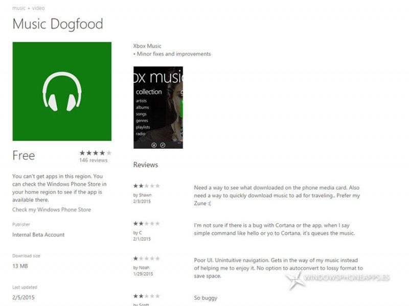 OneDrive Music Locker compatible con Xbox Music Dogfood