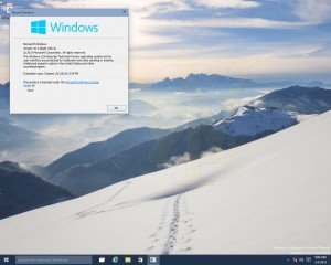 Windows 10 Build 10031