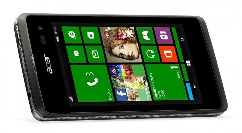 Acer M220 Liquid, un nuevo terminal Windows Phone