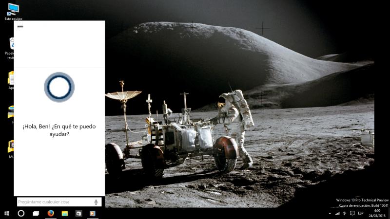 Cortana windows 10 10041