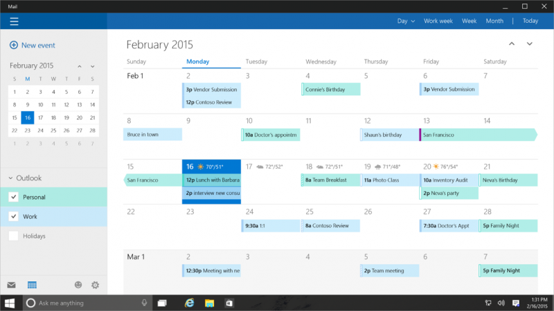 calendario-windows10-pc