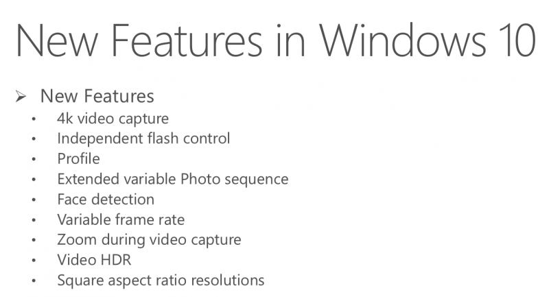 camara mejoras windows 10