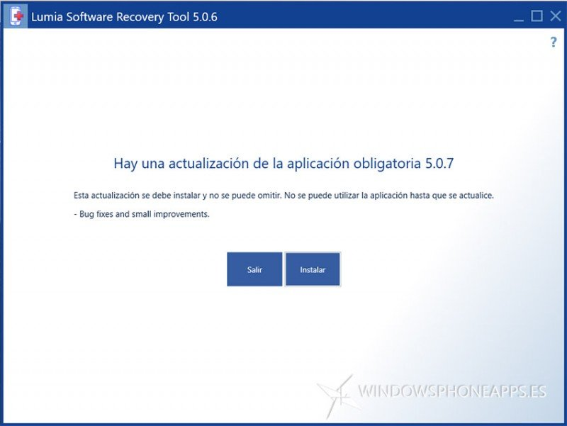 Lumia Software Recovery Tool 5 0 7