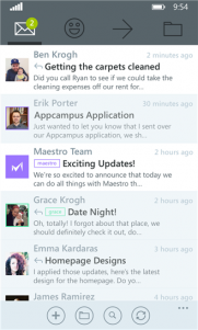 Maestro, app de correo disponible para Windows Phone, gratis por tiempo limitado
