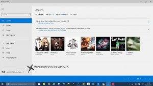 Música y Vídeo Preview aparecen en la build 10049 de Windows 10 como betas