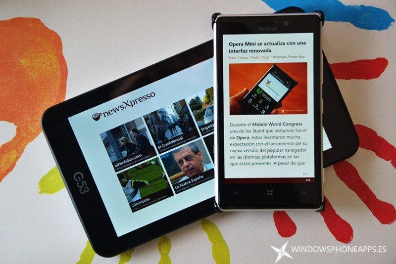 newsxpresso windows phone