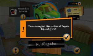 OverVolt: Crazy Slot Cars, pack especial de regalo gratis por tiempo limitado