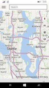 Un vistazo a la nueva aplicación de Mapas en Windows 10 para móviles