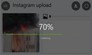 Video Upload to Instagram