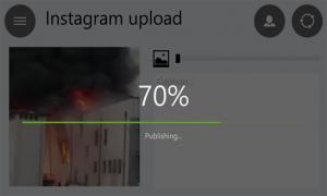 Video Upload to Instagram