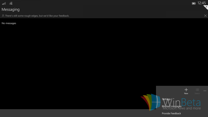 Primeras imágenes filtradas de Windows 10 para tablets de 8 pulgadas o menos