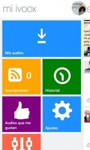 iVoox hace su llegada a Windows Phone