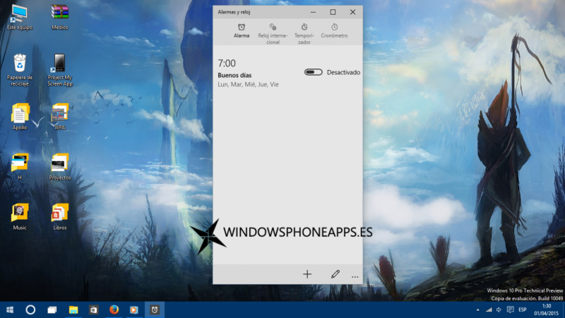 alarma windows 10 10049 4