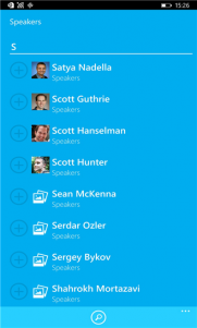 La App oficial de la Build 2015 de Microsoft ya disponible para Windows Phone