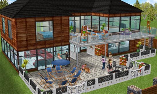 Renueva tu casa con la nueva actualizaci n de the sims for Casa de diseno sims freeplay
