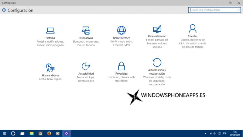 configuracion windows 10 10049