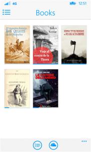 eBooks Reader, tu biblioteca al alcance de la mano en el menor espacio