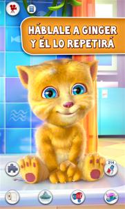 Talking Ginger, una nueva mascota virtual que nos llega de Outfit7