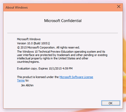 Windows 10 Educacional