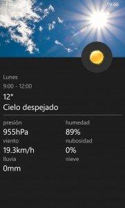 Prognoza, una buena alternativa para tener toda la información meteorológica