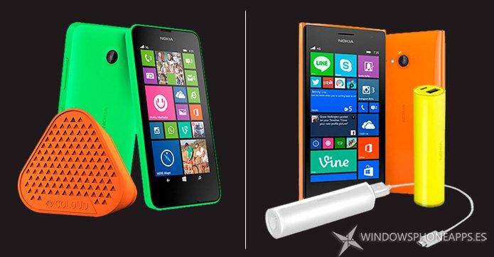 Gratis un regalo con la compra de un Lumia 630/635/735