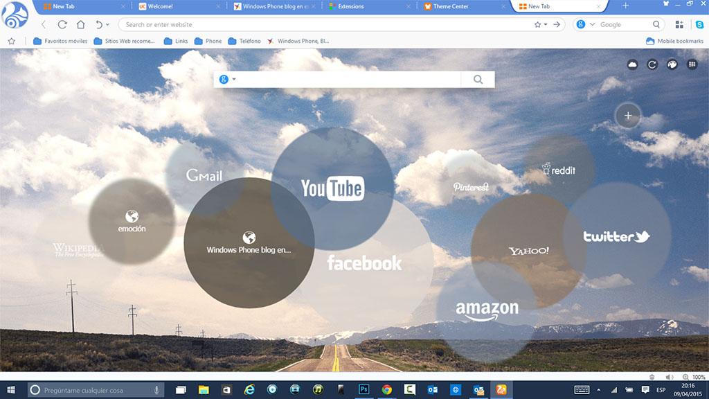UC Browser ahora disponible en su versión de escritorio para Windows