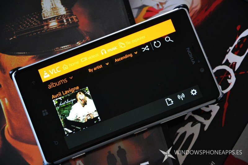 VLC para Windows Phone