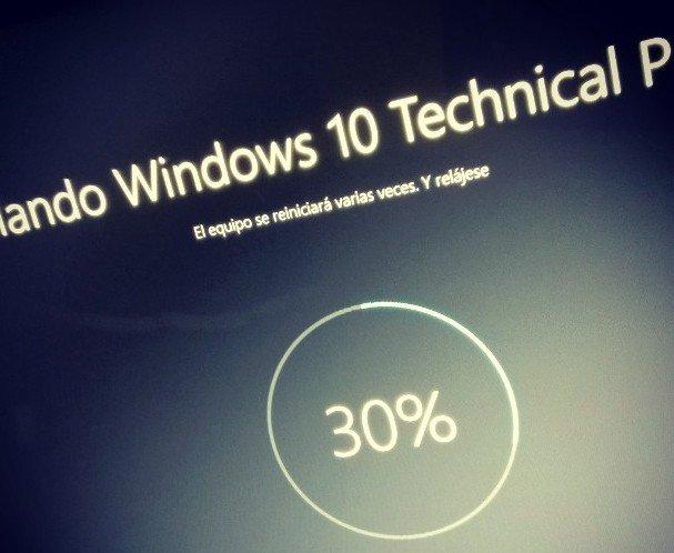 Posible solución para problemas de instalación de las últimas Build de Windows 10 TP