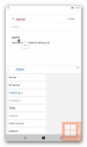 Nuevas imágenes de Windows 10 para móviles salen a la luz