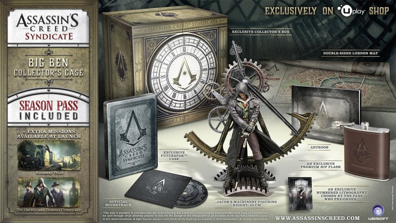 Big Ben Collector's Case de Assassin's Creed Syndicate