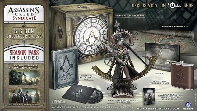 Big Ben Collector's Case de Assassin's Creed Syndicate