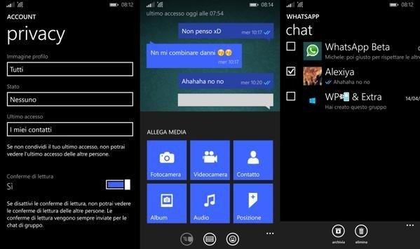 Whatsapp beta se actualiza, ahora se puede enviar audios de MP3 y desactivar el doble check [Actualizado]