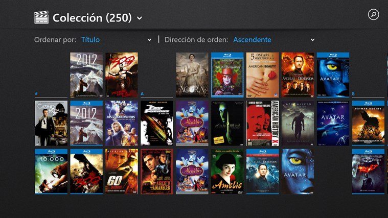 My Movies for Windows 8